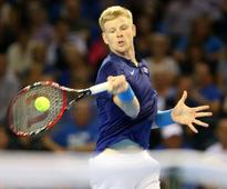 Kyle Edmund secures last-eight spot with victory over David Ferrer