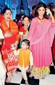 Shilpa Shetty Kundra visits Juhu temple with son Viaan