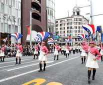 World Police Band Concert draws 60,000 spectators in Tokyo (2016/10/11)
