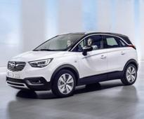 Opel Crossland X crossover revealed