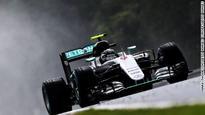 Lewis Hamilton pipped by Nico Rosberg