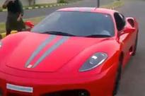 Father arrested for allowing his 9-year-old son to drive Ferrari