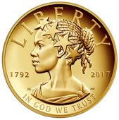 Fresh face on new $100 US gold coin makes history Read Full Article