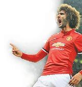 Fellaini gets Man United off the mark