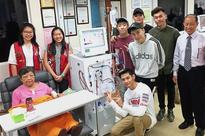 Joining forces to buy dialysis machine