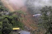 JK highway closed for traffic due to landslides