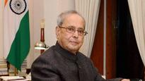 President Pranab Mukherjee backs PM Modi's call for simultaneous state and national elections