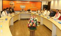 Lights go off in BJP office while PM Modi attends CEC meeting, Twitterati blame Arvind Kejriwal