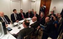Inside Donald Trump's Mar-a-Lago 'situation room' during Syria strikes