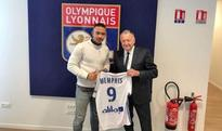 Pictured: Memphis Depay will wear this number for Lyon after Manchester United transfer