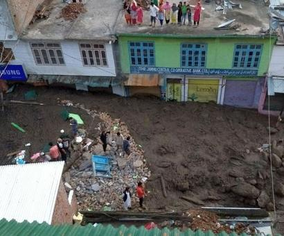 13 killed in cloudbursts, flash floods, landslide in J-K