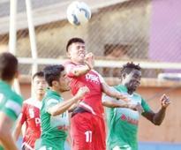 Salgaocar FC share points with DSK Shivajians
