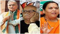 Babri case: Advani, Joshi and Uma get relief from personal appearance