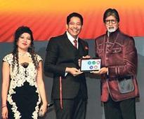 Amitabh Bachchan unveils MT Educare's Education App 'Robomate+'