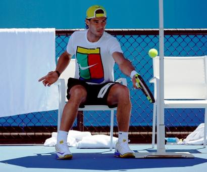 Rafael Nadal on track to compete at Rio Olympics