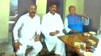 Bihar minister feasts with former MP in jail