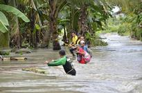 Families trapped by floods in Cotabato, Maguindanao rescued