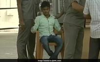 Man Tries To Throw Slipper At Nitish Kumar, Arrested