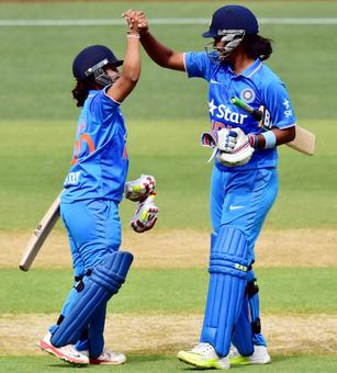 PHOTOS: Indian women stun Australia with record chase in 1st T20I