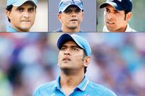 'Dhoni' drops Sourav Ganguly, Rahul Dravid and VVS Laxman, again!