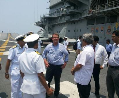 The geopolitics of Ashton Carter's India visit