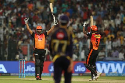 IPL PHOTOS: Hyderabad overpower KKR in five-wicket win
