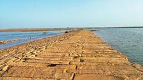 Stone causeway of Grand Trunk road discovered in Bihar