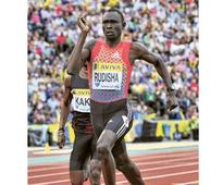 Rudisha in rude form for Daegu