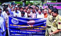 SC, ST, OBC Confederation holds counter rally favouring reservation system