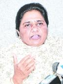 Mayawati slams govt in rare step-in