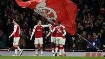 Danny Welbeck's double strike sends Arsenal into Europa League quarters