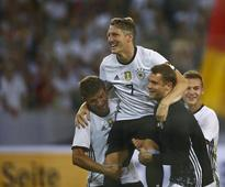 Germany's 'swan on ice skates' back to his ungainly best