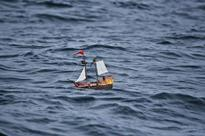 This Playmobil Toy Boat Has Been Sailing the High Seas for Almost a Year