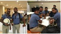 Confident India arrive in Kingston