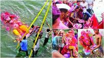 Amdavadis say goodbye to Lord Ganesha