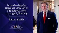 Interviewing the RVP & GM of The Ritz-Carlton Shanghai Pudong, Rainer Burkle | By Lily Lin