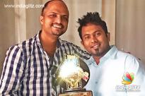 Director/Actor Jude Anthany Joseph and Aju Varghese sign for a film as heroes