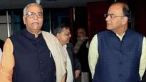 He was a puppet of Congress, his mind left party long back: BJP on Yashwant Sinha quitting