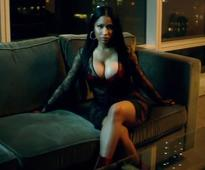 Nicki Minaj flashes assets in lace bodysuit and pink thong for DJ Khaled music video