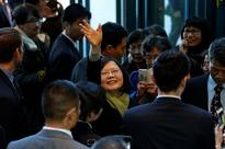 Amid tension, Taiwan says wants