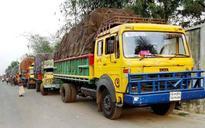 Dhaka: 68 jute-laden trucks stranded at Benapole border as India imposes anti-dumping duty