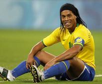 Brazilian World cup winner Ronaldinho retires from football