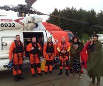 USCG Rescues 2 from Fishing Vessel Northwest of Sitka, Alaska