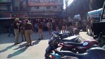 Shiv Sena leaders hold protest march in Ludhiana over attack on leader