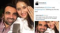Jumbo gaffe: When Anil Kumble thought Zaheer Khan got engaged to Sagarika Ghose!