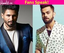 Sorry Virat Kohli, but fans find Shahid Kapoor MORE desirable than you!