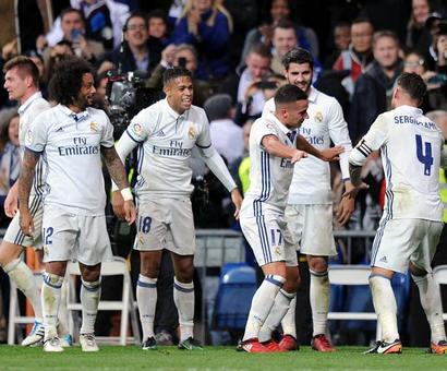 PHOTOS: Real snatch dramatic late win, Barcelona back on track