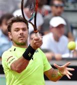 Monaco eliminates Wawrinka from Italian Open