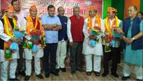 Manipur: 4 Congress MLAs join BJP on a day Rahul held a meet on North East