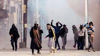 Terrorists break security cordon to escape as youth pelt stones
